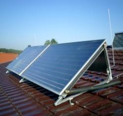 Flachkollektoren Thermische Solaranlage