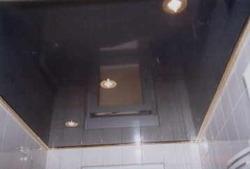 Spanndecke im Bad