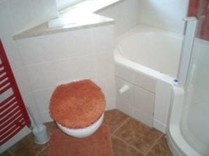 WC und Natursteinablage