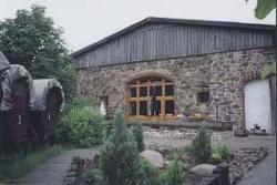 Wagenburg, Außenansicht Gaststättenbereich