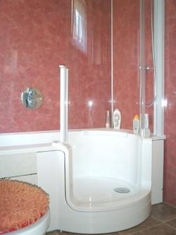 Twinline-Wanne und -dusche mit Respatex
